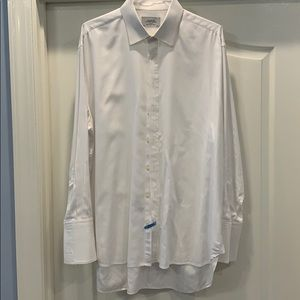 Charles Tyrwhitt dress shirt 2 button cuff -18/35